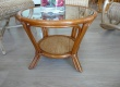 Salon en rotin pour veranda Table EWA PM